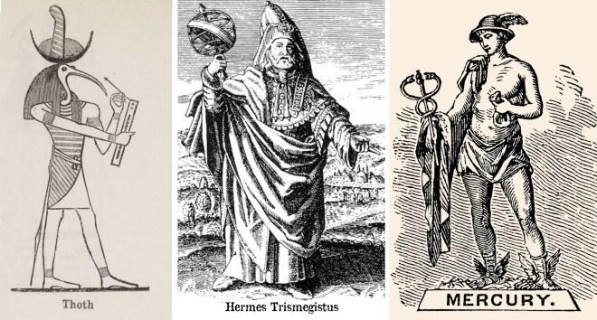 Fig 1 - Hermes Trimegistas