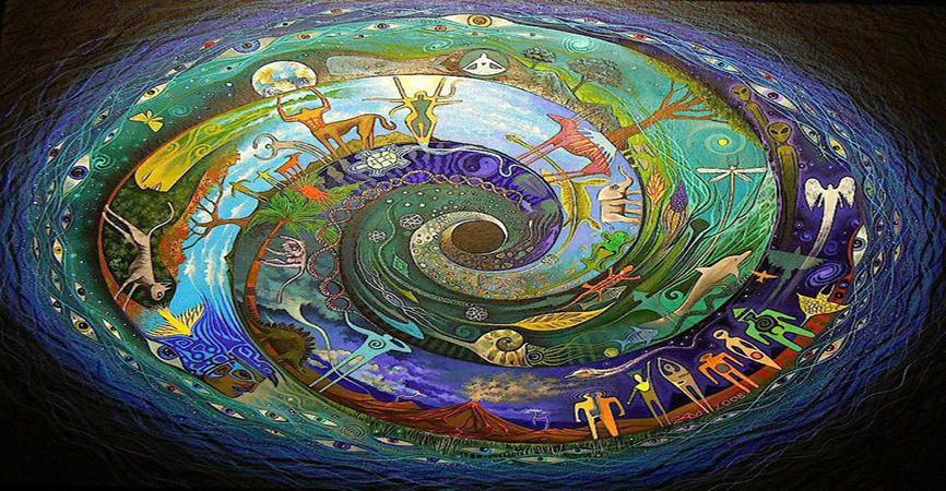 Espiral mística da evolução